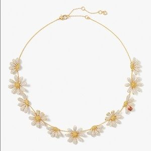 Kate Spade dazzling daisy statement necklace